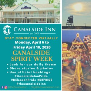 flyer for canalside spirit week