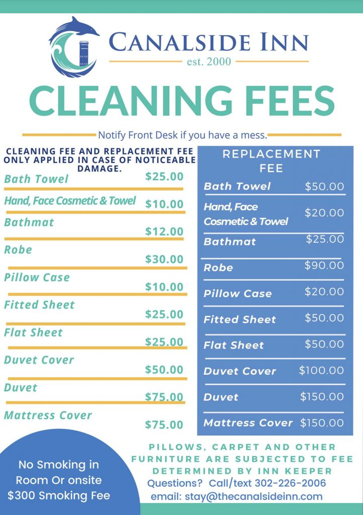 Cleaning-Fee's