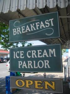 royal treat breakfast sign rehoboth beach delaware